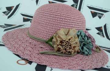 تولیدی کلاه قاسمی-کلاه حصیری دخترانه(بچه گانه)